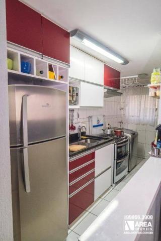 Apartamento com 3 dormitórios à venda, 62 m² por R$ 211.000 - Santa Quitéria - Curitiba/PR - Foto 7