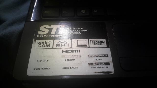 Notebook STI IS 1442 - Foto 4