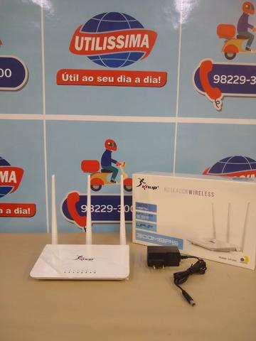 Roteador Wireless Knup 3 Antena 300mbps