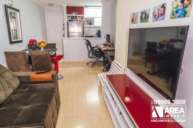 Apartamento com 3 dormitórios à venda, 62 m² por R$ 211.000 - Santa Quitéria - Curitiba/PR
