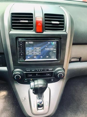 CR-V top de linha automático e brancos de couro - Foto 2