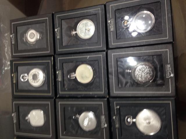 12 relógios de bolso Heritage - Foto 3