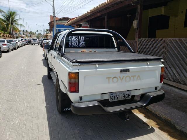 Vendo hilux 99 2.8 cabine dupla - Foto 3