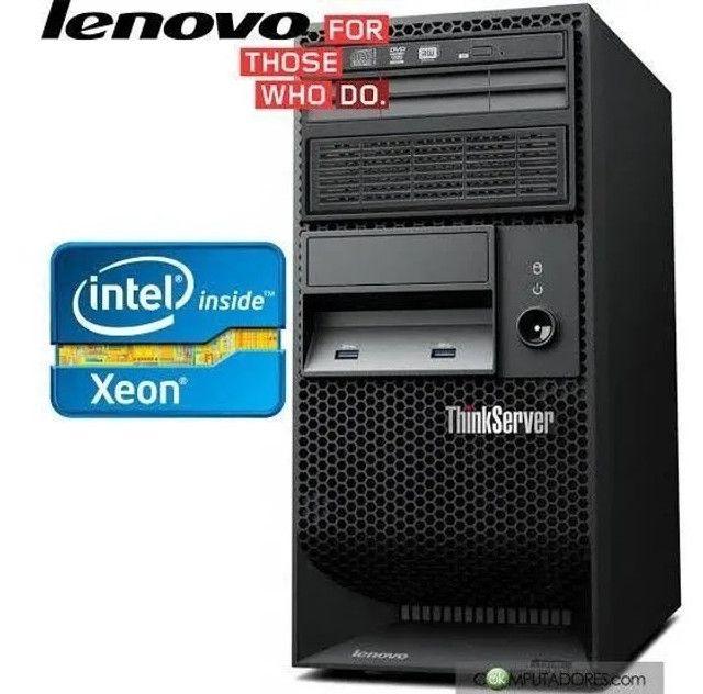 Servidor Lenovo Thinkserver Ts140 Intel Xeon E3-1226 V3(monitor18incluso), R$ 2000