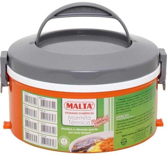 Marmita Térmica 1 Prato Malta