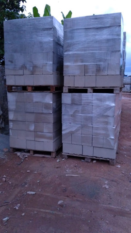 Blocos de concreto, Tubo de concreto, Estrutura Galpão Premoldado  - Foto 6