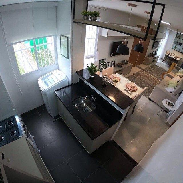 Apartamentos 2 quartos 42m com elevador no planalto | Vista das copaibas - Foto 8