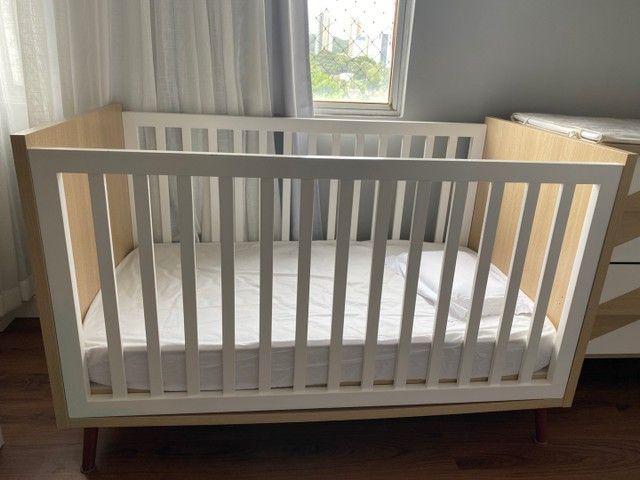 Vendo lindo quarto de bebê moderno ! - Foto 6