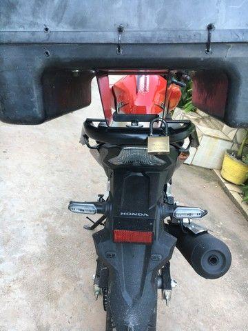 Suporte para baú de moto da cbtwister  - Foto 3