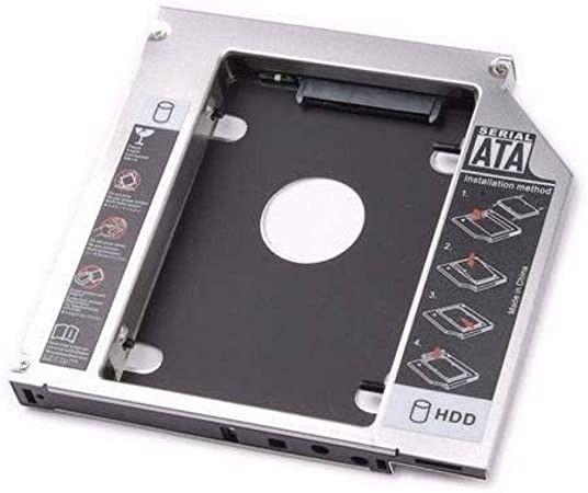 Case Adaptador Caddy Dvd HD Ssd 2.5 Sata Notebook - Entrega Grátis - Foto 2