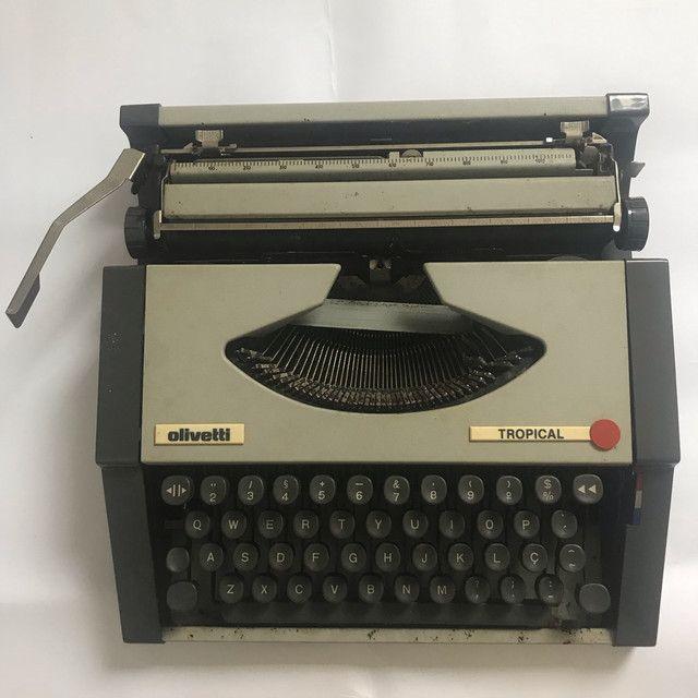 Máquina de datilografia antiga - Foto 3