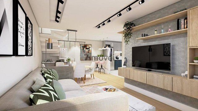 Sobrado a venda tem 151m² com 3 quartos em Campo Comprido - Curitiba - PR