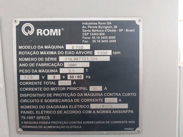 Centro de usinagem Romi Discovery 760 - Foto 4
