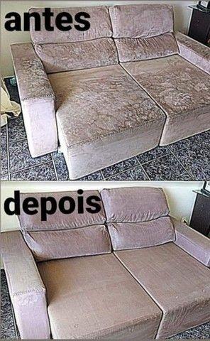 Super promoção Limpeza e higienização de estofados - Foto 6