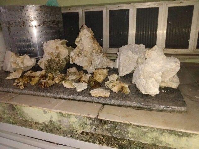 rochas sanzibar para aquario de água doce ou salgada - Foto 5
