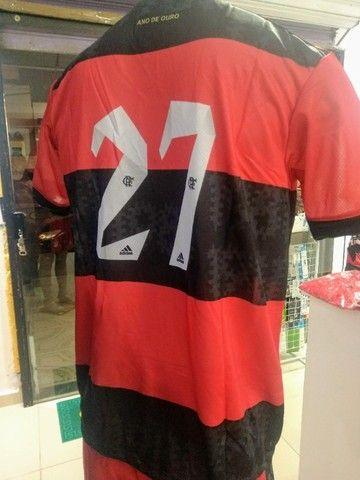 Camisa Flamengo Dry-Fit Time Premium - Foto 2