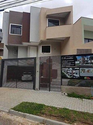 Sobrado com terraço em Condomínio, 3 quartos, 2 vagas - Foto 2