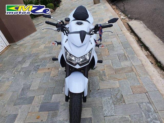Kawasaki Z 750 2010 Branca com 64.000 km - Foto 12