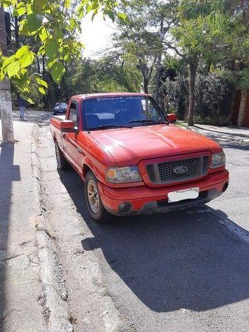 Ford Ranger 2008 Sport XLS 10A 4X2 - GNV 5° geração Motor 2.3 Completa