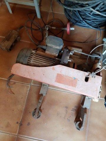 Talha elétrica + barra de movimentação - Foto 3
