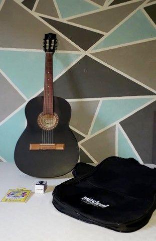 Violão acústico + afinador + kit de cordas - Foto 3