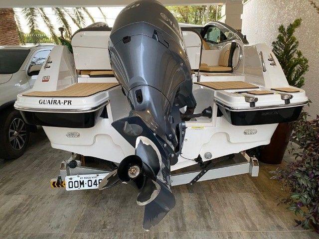 Lancha Focker 210 2019 150hp 30hrs - Foto 5