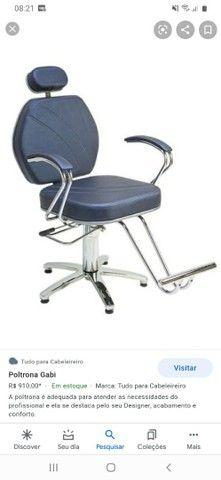 Cadeira inclinavel