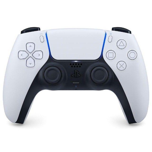 Controle Sem fio PS5 DualSense, Novo, Lacrado, ou 12X R$ 36,89