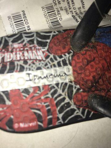 Chinelo do homem aranha - Foto 3