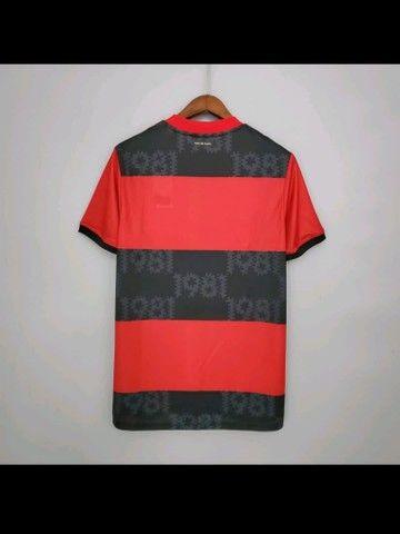 Camisa do flamengo 2020/21 TAM G - Foto 2