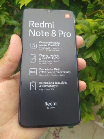 Xiaomi Redmi Note 8 Pro 64Gb/6gb Com Garantia De 6 Meses Azul/Verde - Foto 4