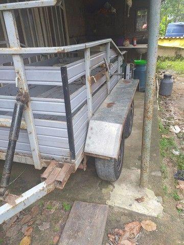 Vendo carrocia com 2 eixo toda documentada  - Foto 6