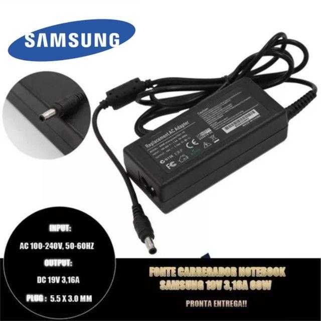 Fonte Carregador Notebook Samsung