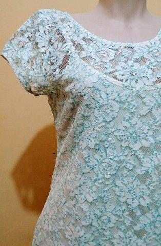 Vestido renda Folic novo - Foto 4