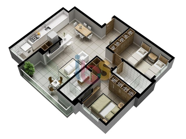 Apartamento à venda, 3 quartos, 3 suítes, 2 vagas, São Francisco - Ilhéus/BA - Foto 11