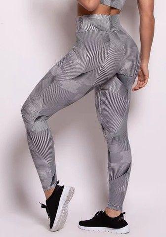 Calcas Legging Fitness A Pronta Entrega Disponível Só No Tamanho G(42). - Foto 4