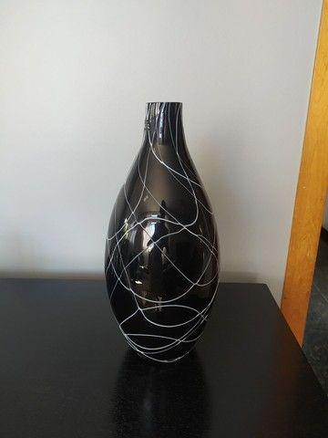 Vaso decorativo Preto e Branco - Foto 2