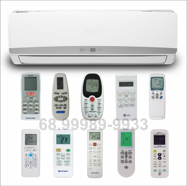 Controle remoto para ar condicionado
