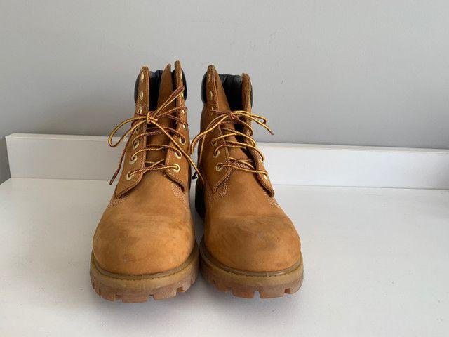 Bota Timberland - Yellow Boots - a prova d?água n39 - Foto 4