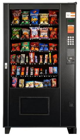 Vending Machine Polivend - Máquina De Snacks'