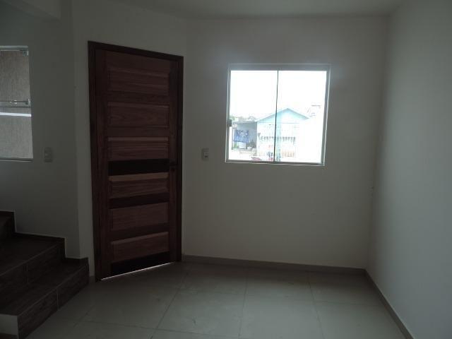 Sobrados novos triplex no Umbará com 02 quartos - Foto 6