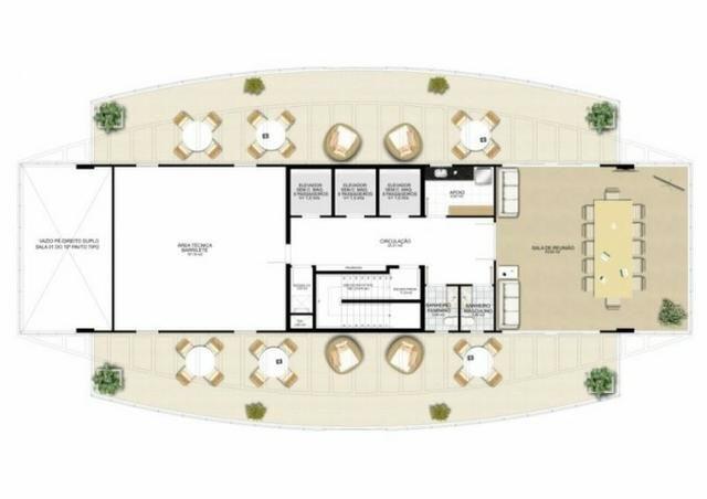 Sala já alugada com vista espetacular, 36m² no Impacto Empresarial na Reta da Penha! - Foto 17