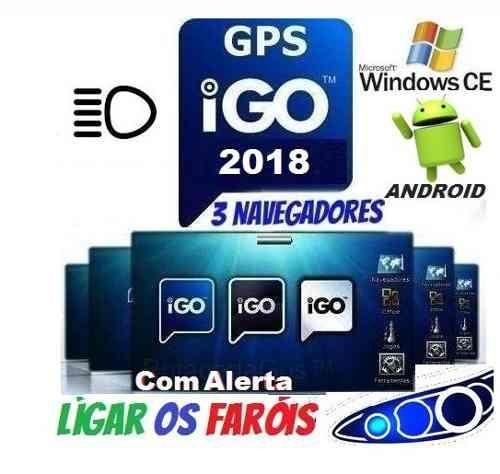 Atualização Gps Igo Amigo 2018