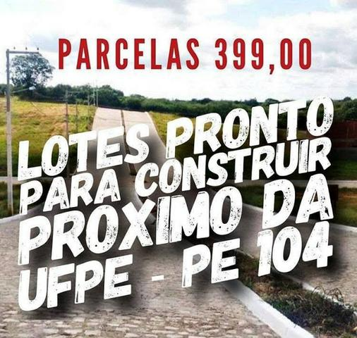 Terreno pronto pra construir - 12x22- Sinal de 2.500 + 150 mensais de 399 reais. Ligue