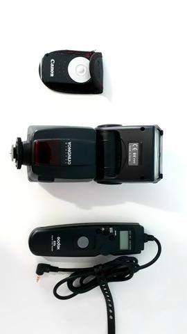 Canon 70 D + 3 lentes e acessorios - Foto 4