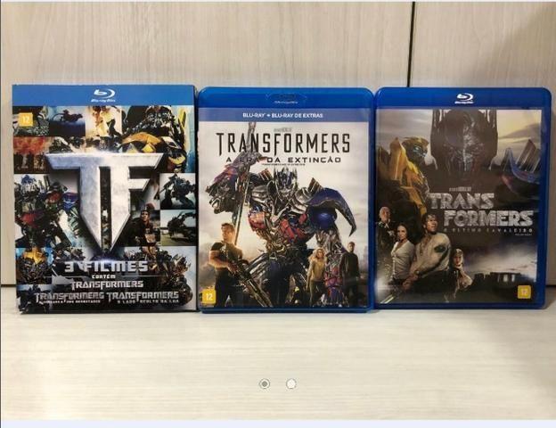 Coleção Completa Blu-rays Transformers