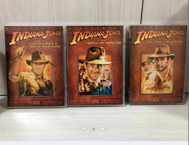 Coleção Completa Dvds Indiana Jones - Foto 3