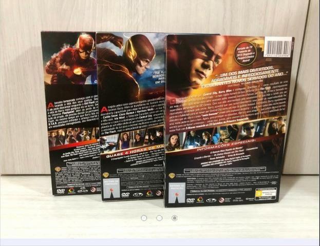 Coleção Dvds Originais Temporadas 1 À 3 The Flash - Foto 3