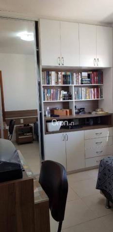 Apartamento com 2 dormitórios à venda, 69 m² por r$ 299.000,00 - setor pedro ludovico - go - Foto 20