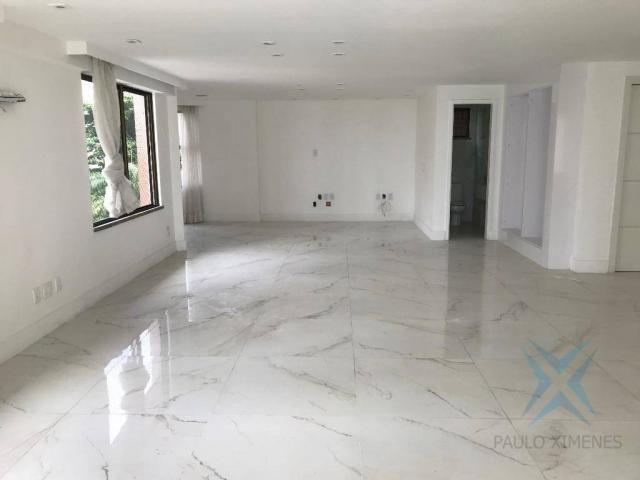 Apartamento com 4 dormitórios à venda, 357 m² por r$ 2.680.000,00 - meireles - fortaleza/c - Foto 7